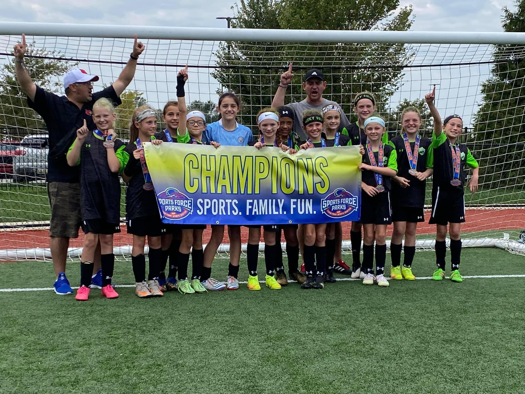 U11 ISC LUCKY GIRLS ELITE WIN CHAMPIONSHIP AT COLUMBUS DAY CLASSIC!