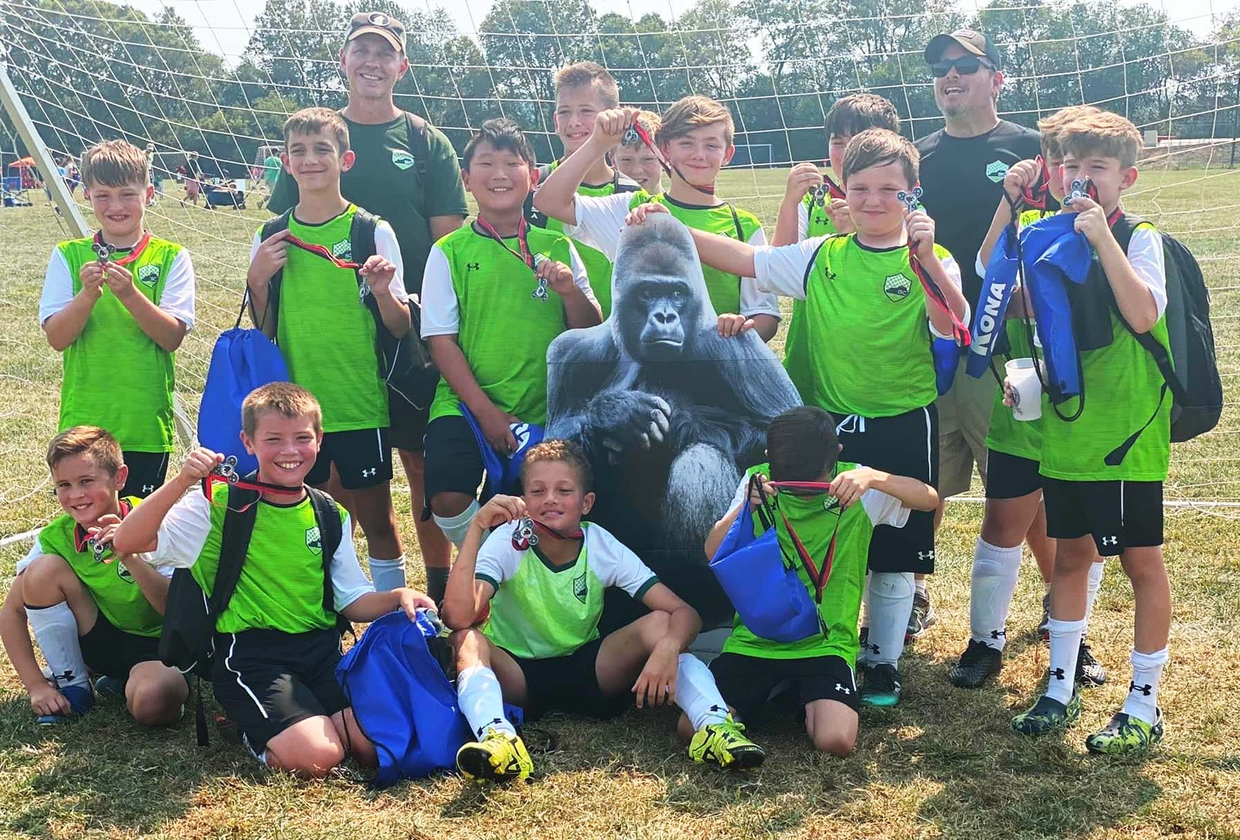 ISC Raiders B2010, Finalists in the CWSC Gorilla Cup!